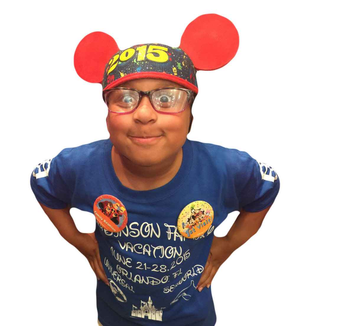 kid at disney